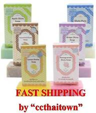 6pc GLUTA SOAP PURE LEMON APPLE GRAPE TAMARIND POMEGRANATE GLUTATHIONE WHITENING