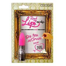 Mustard Leggi le mie labbra a forma di rossetto specchio Marker - Rosa