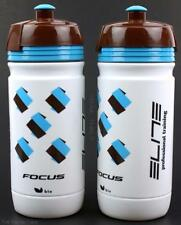 2-Pack Elite Corsa Focus Pro Cycling Team Road Bicycle Water Bottles 550ml
