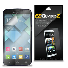 2X EZguardz LCD Screen Protector Cover HD 2X For Alcatel OneTouch Pop C7 (Clear)
