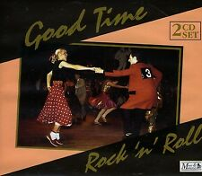 2 CD BOX GOOD TIME ROCK N ROLL COCHRAN BERRY BURNETTE WILSON DOMINO FAITH ETC