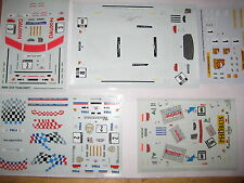 6 decals Set 1/43 Racing, DTM örm Macao BMW FERRARI Schnitzer Quester Cecotto