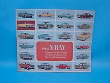 1965 65 AMC Rambler Dart Fairlane Chevy X-ray Brochure Dealership