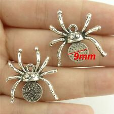 15133*20PCS Silver Vintage Animal Insect  Spider Pendant Charm Alloy Antique