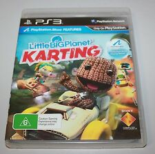 LITTLEBIGPLANET (Little Big Planet) KARTING -AUS PAL- SONY Playstation PS3 Game