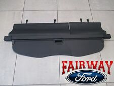 15 thru 16 Edge OEM Genuine Ford Retractable Black Cargo Security Shade Cover