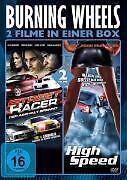 Burning Wheels - 2 Filme in einer Box - Street Racer / High Speed - DVD - *NEU*