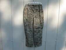 USMC MARINE CORPS DESERT CAMO MARPAT COMBAT PANTS MEDIUM REGULAR BALL 3D
