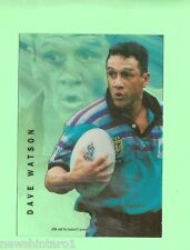 1996 RUGBY LEAGUE  ACETATE CARD  A3  DAVE WATSON, GOLD COAST