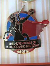 Disney D23 Limited Release 1949 Ichabod and Mr. Toad Headless Horseman Pin