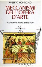 Meccanismi dell'opera d'arte da un corso di disegno per il restauro Nardini 1987