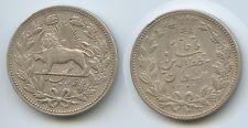 G0188 - Persien 5000 Dinars (5 Kran) AH1320-1902 KM#976 Muzaffar al-Din Shah