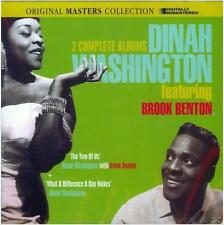 DINAH WASHINGTON FEAT. BROOK BENTON - 2 CD - REMASTERED - NEUF NEW NEU
