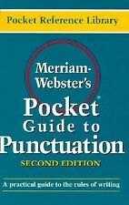 Merriam Webster's Pocket Guide to Punctuation Pocket reference library - Merriam