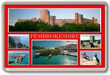 FRIDGE MAGNET - PEMBROKESHIRE - Large - Wales TOURIST