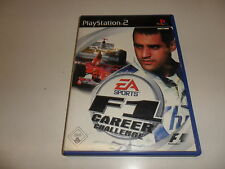PLAYSTATION 2 PS 2 f1 Career Challenge