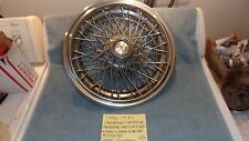1986-1995 CHEVROLET CAPRICE FACTORY OEM WIRE SPOKE 10201261 HUBCAP FREE SHIPPING
