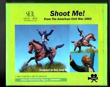 SEIL MODEL SH54001 - SHOOT ME! AMERICAN CIVIL WAR - 54mm WHITE METAL KIT NUOVO