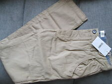 MENS NEW LOOK SKINNY TIGHT FIT CHINOS TROUSERS STONE TAN COLOUR W34 L32 BNWT