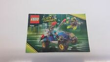 LEGO  !! INSTRUCTIONS ONLY !! FOR 7050 ALIEN CONQUEST BUGIE