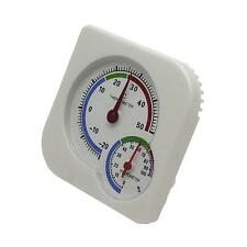 Home Mini Hanging Desktop Temp Meter Thermometer Analog Wet Humidity Hygrometer