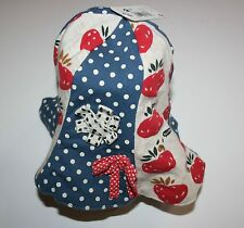 New Next UK Brand Strawberry Polka Dot Sun Hat Size 3-6 Years NWT Strawberry