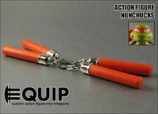 TMNT Teenage Mutant Ninja Turtles Michelangelo Custom Nunchucks