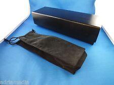 Original VERTU Leder Hülle Leather Schwarz Black Tasche Ascent Constellation NEU