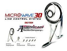 MicroWave 30 Spinning Guide Set- Duralite-Gunsmoke (DGMW30-SET) W/2 extra guides