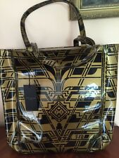 Ted Baker FITHCON - Fifth Avenue Printed Icon Large Shoppers Bag, Gold, RRP £41