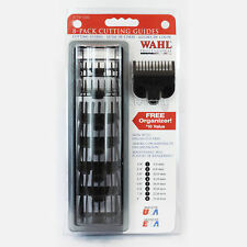 8Pcs Wahl Professional Clipper Guard Replacement Cutting Guides Combs Attachment