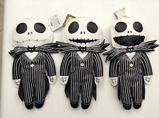TIM BURTON'S NIGHTMARE BEFORE CHRISTMAS VINYL PLUSH SET OF 3 by NECA NEW NBX 124