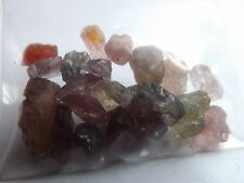 Vietnam Spinel Facet Rough 18pcs 50.7cts tw Very Clean Nice Mixed Colors!!