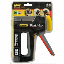 Stanley Fatmax Heavy Duty Stapler Nailer Staple Brad Nail Gun 6-TR350 Manual NEW