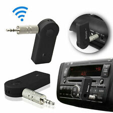 Wireless Bluetooth 3.5mm AUX Audio Stereo Music Home Car Receiver Adapter Mic MC