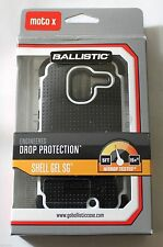 NEW BALLISTIC SHELL GEL SG CASE COVER FOR MOTOROLA MOTO X 1ST GEN XT1060