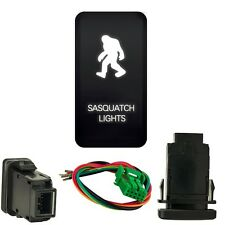 White SASQUATCH lights push switch for toyota FJ Cruiser 2007-2014 Cable kit