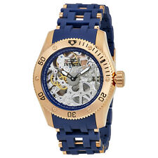 Invicta Sea Spider Mechanical Skeleton Dial Mens Watch 80131
