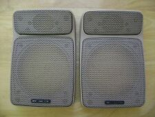 BMW e12 e23 e28 e30 535i 325i Natur Premium Sound Rear Deck Speaker Enclosures