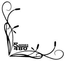 """R480 SCANIA """"R"""" SERIES TRIBAL Side Window Stickers x 2"""