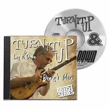 Turn It Up & Lay It Down Dennys Mix Learn to Play Drum Practice Playalong CD 8