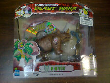 Transformers Beast Wars Rhinox Figure 10th DVD NEW FREE SHIP US