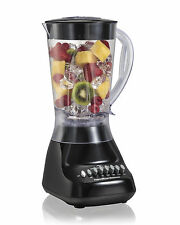 Hamilton Beach Fruit Smoothie Maker Blender Mixer 10-Speed Black, New
