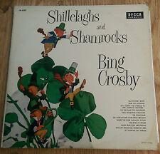 Bing Crosby - Shillelaghs and Shamrocks - Decca DL 8207 (Canada) (1956)