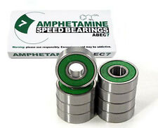 AMPHETAMINE Abec7 Kugellager incl. Spacer   Longboard Skateboard MiniCruiser