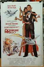 """ OCTOPUSSY""  Roger Moore in this BOND CLASSIC,/ Original 1 sheet Movie Poster"
