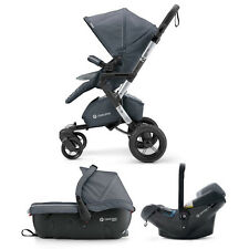 "Concord 2016 Neo travel set sleeper 2.0 & Air. safe ""Graphite Grey"""