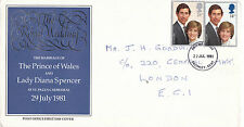 22 JULY 1981 ROYAL WEDDING POST OFFICE FIRST DAY COVER BROMLEY KENT FDI