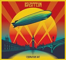 LED ZEPPELIN - CELEBRATION DAY - 1 x BLU RAY & 2 x CD - SEALED DIGIPAK