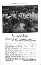 1955 Taverham Hall Norwich Jsp Il Ravenswood Tiverton Schuster School Ad